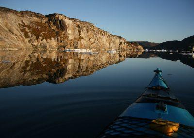 Kayaking, still water