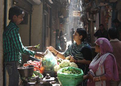 Ciasne uliczki Starego Delhi Fot. Andrzej Mazurkiewicz